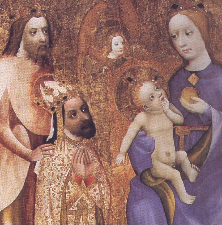 Charles_IV_kneeling_before_Madonna-Votive_picture_of_archbishop_Jan_Ocko
